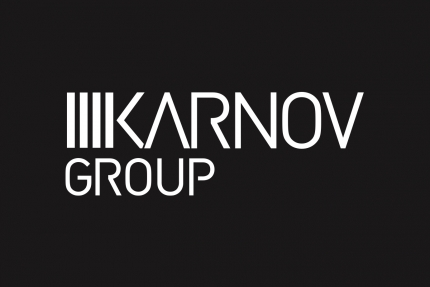 Karnov Group Black Background Logo