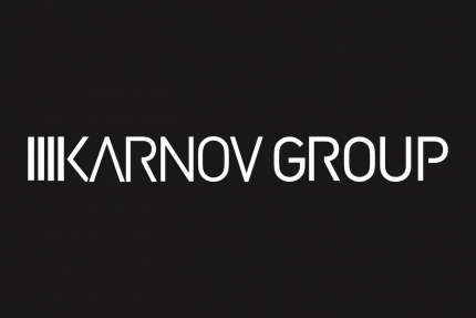 Karnov Group Horizontal Black Background Logo
