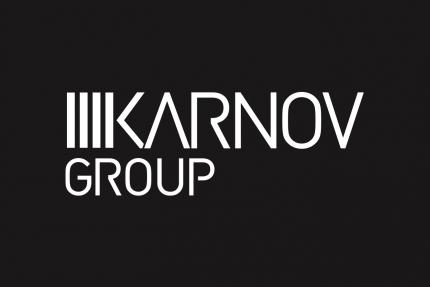 Karnov Group Black Background Logo