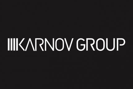 Karnov Group Horizontal Black Background Logo